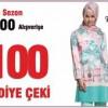 Tekbir Giyim'den 300 TL Alışverişe 100 TL Hediye Çeki!