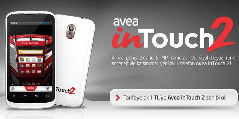 AVEA inTouch 2 Cep Telefonu