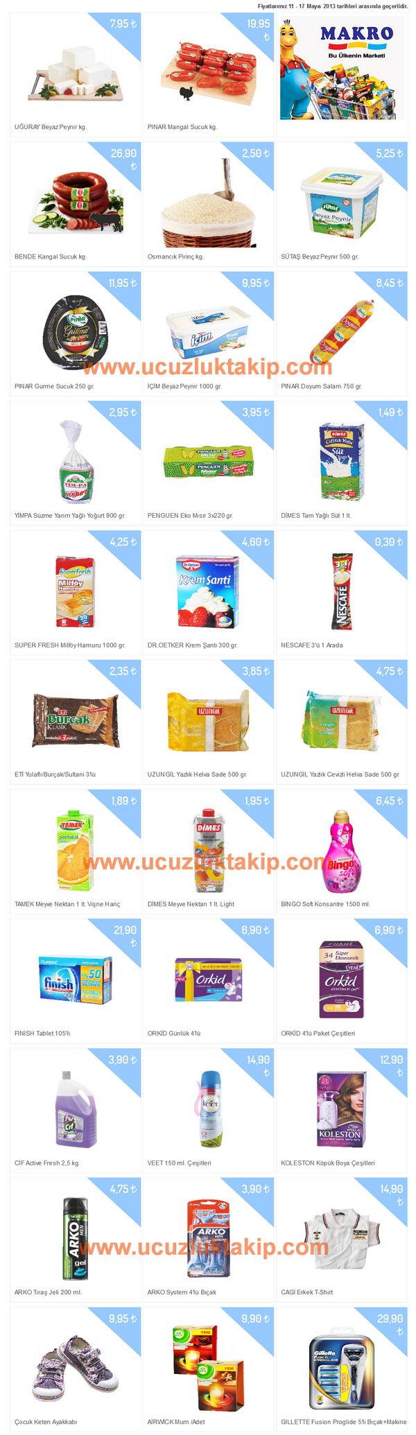 Makromarket - Promosyonlar-11-17 Mayıs